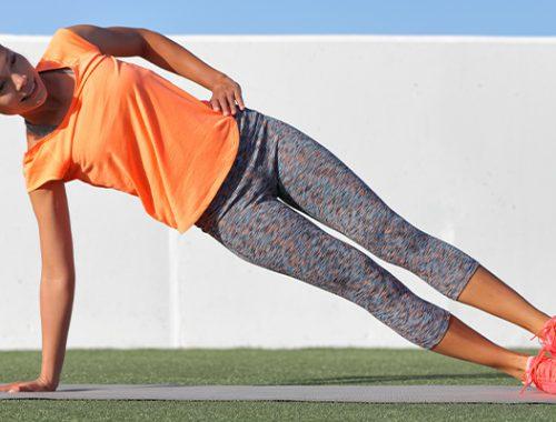 Side plank: een uitstekende oefening voor je buikspieren!